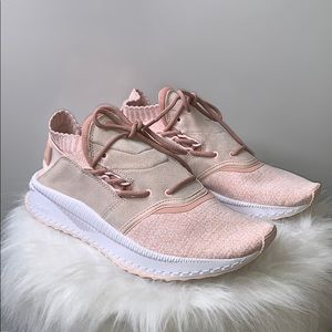 New ADIDAS • Dust Pink Suede Ignite Sneakers Shoes